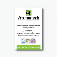 Aromatech Business Card
