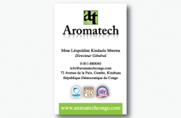 Aromatech Business Card