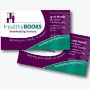 Healthy Books Business Card