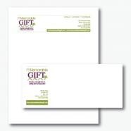 A Memorable Gift Letterhead & Envelope
