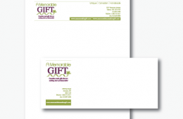 A Memorable Gift Letterhead & Envelope