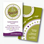 Tea Biscuit Business Card