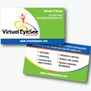 Virtual EyeSee Business Card