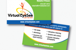 Virtual EyeSee Business Card