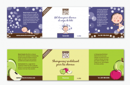 Aroma Pur – Product Bottle Labels