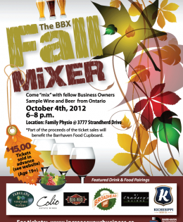 BBX Fall Mixer Poster