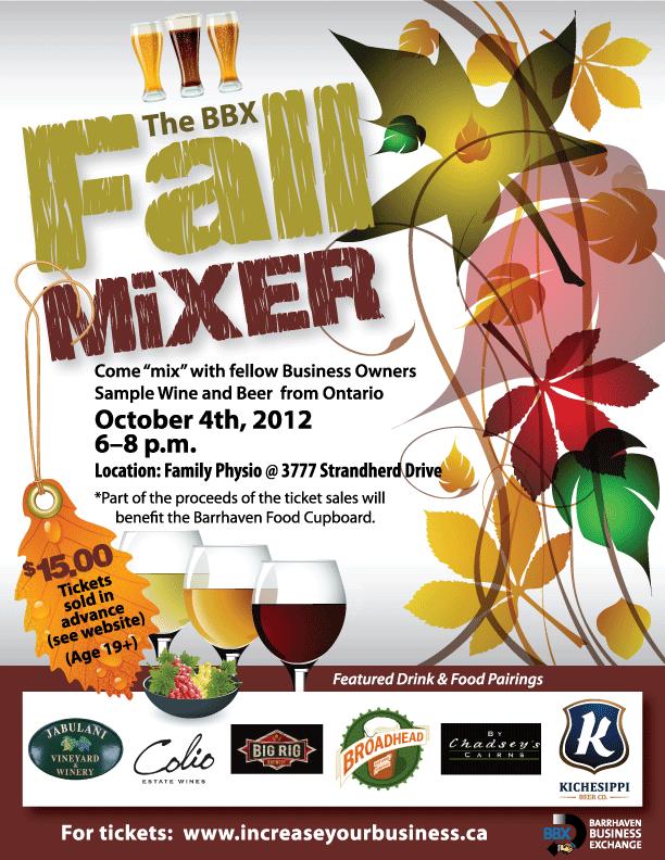BBX Fall Mixer